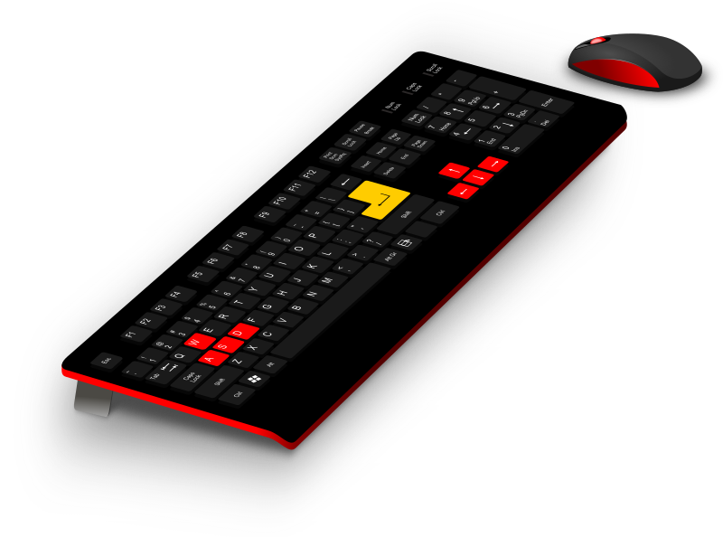 Generic Gaming Keyboard/Mouse by averpix