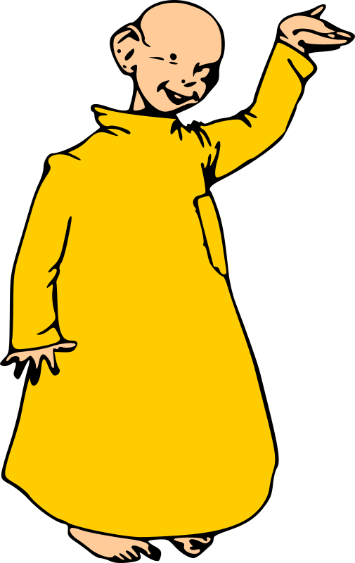 Yellow kid by liftarn - The Yellow Kid, aka Mickey Dugan from the classic Hogan's Alley comic strip.