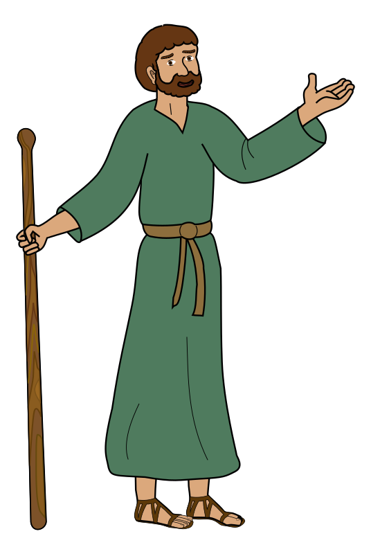 Paul of Tarsus by jonadab - Saint Paul in cartoon style.