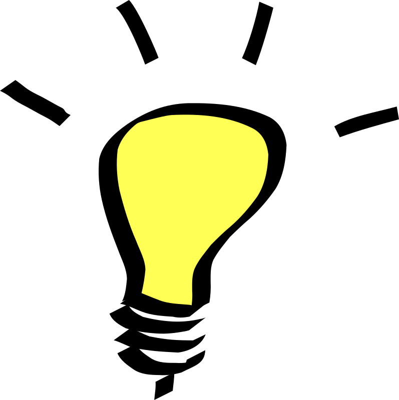 light bulb by Anonymous