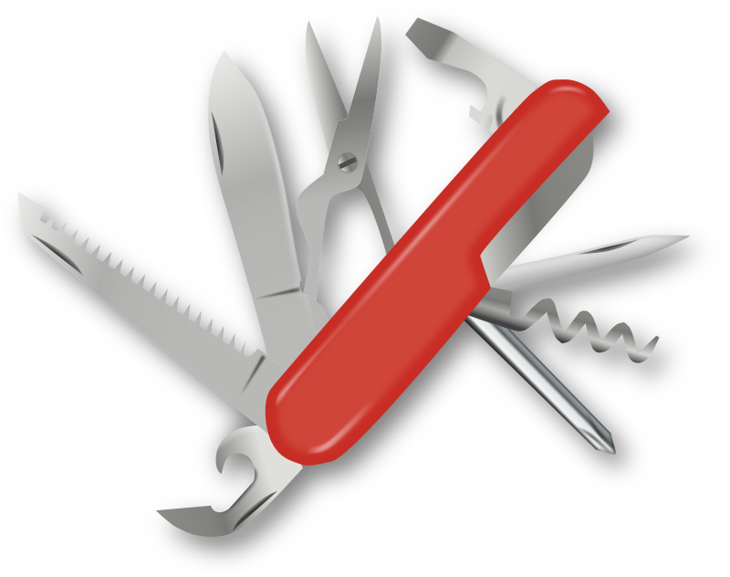 Swiss Army Knife by gnokii -