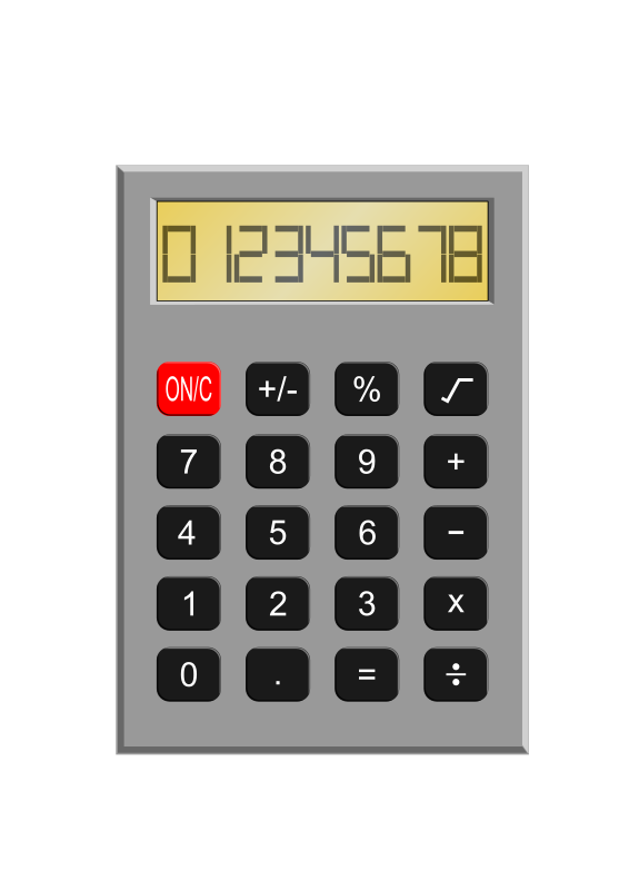 Old Calculator by kevie - Remember back to the days of the 80s when these were banned in school and were confiscated on a regular basis.  No scientific stuff here, just a plain and simple old fashioned calculator with a seven segment display