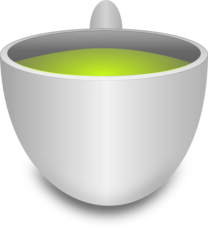 Green Tea Cup by mkhuda