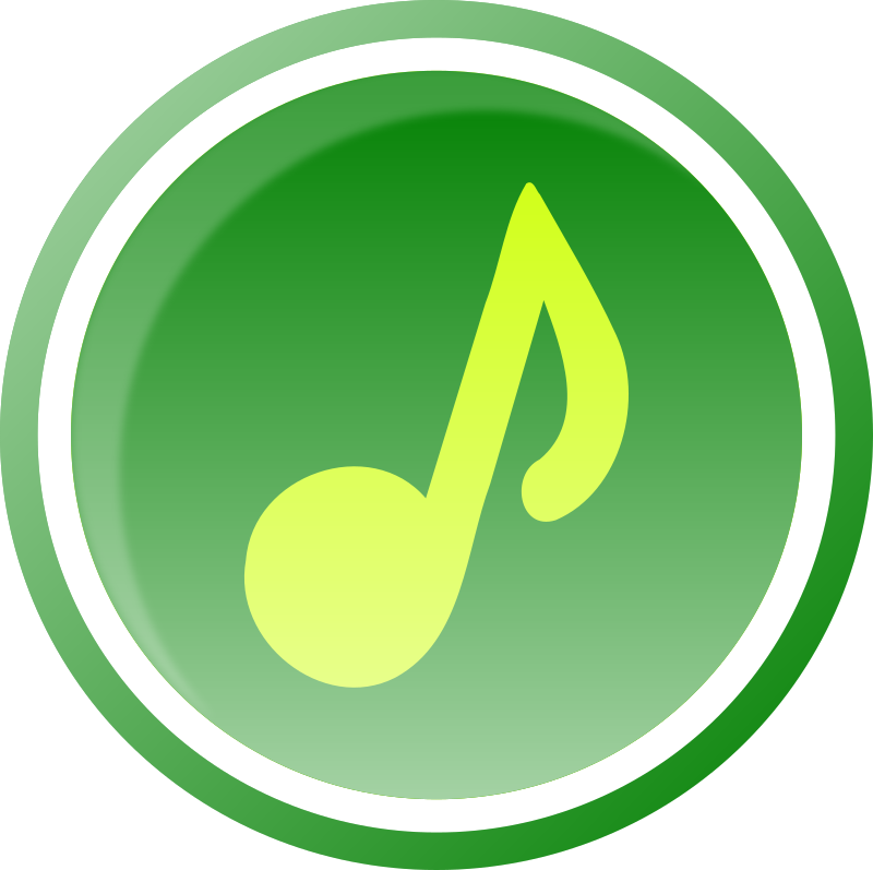 Music Icon-Green-1 by gsagri04 - Music icon