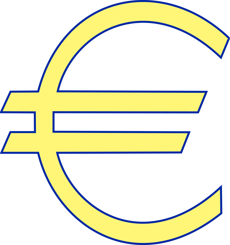 monetary euro symbol by Anonymous