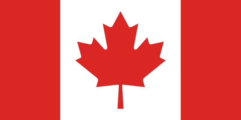 Flag of Canada by Anonymous -
