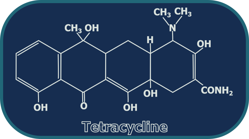 Tetracycline Structure by gsagri04 - Tetracycline chemical structure