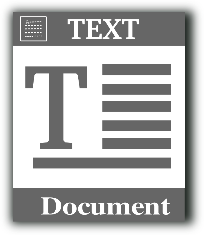 Text file icon by gsagri04 - Text file icon