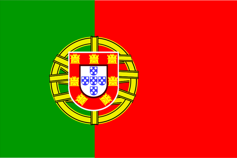 Flag of Portugal by Anonymous -