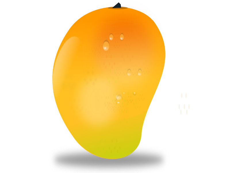 Clipart - mango fruit