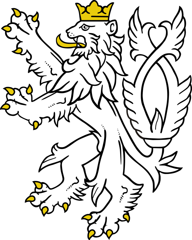 White lion by liftarn - White crowned lion standing up.