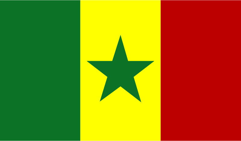 Flag of Senegal by Anonymous - The Flag of Senegal