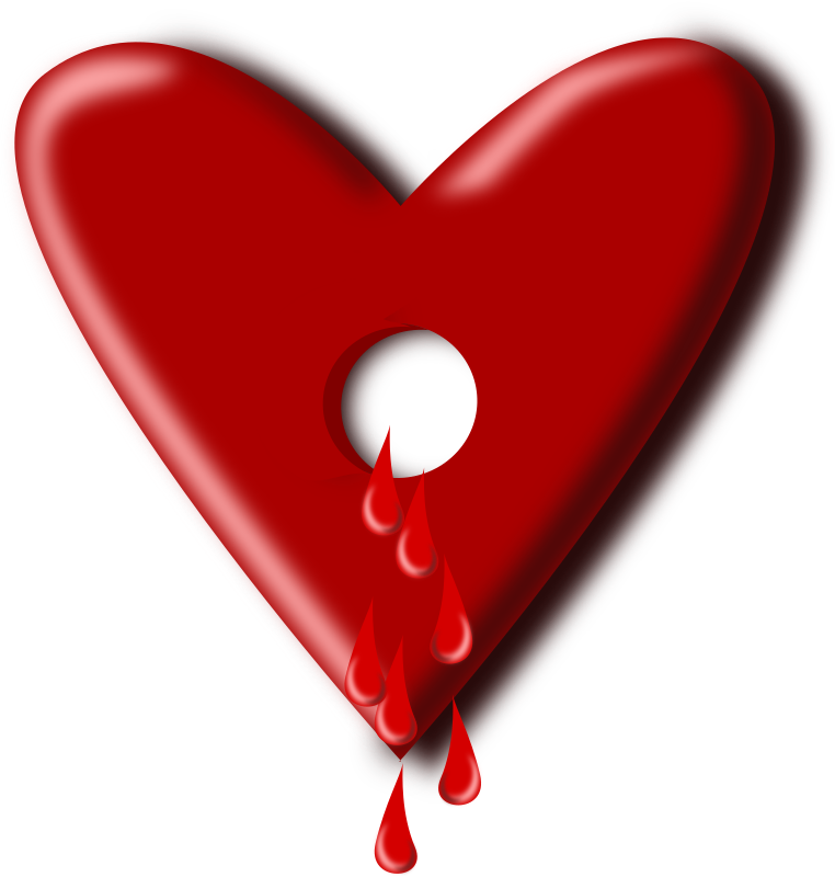 bloody heart by pauthonic