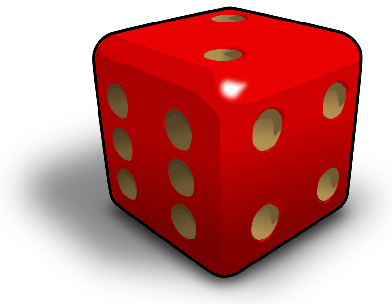 Dado - dice 2 by ernes - more gradient