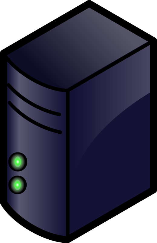 Server 1 by ericlemerdy - color server icon