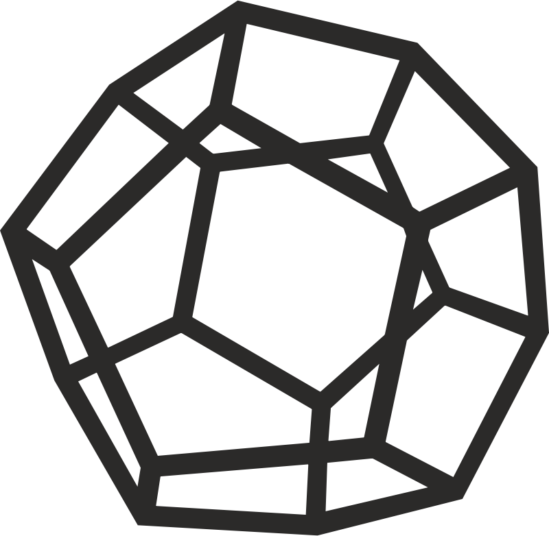 Dodecahedron by alkon - Plato, the ardent disciple of Pythagoras, maintained that the Dodecahedron was the geometrical figure employed by the Demiurgus in constructing the universe. More info: http://www.philaletheians.co.uk/Study%20notes/Theosophy%20and%20Theosophists/Keys%20to%20the%20Mystery%20Language.pdf