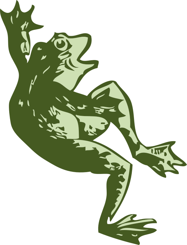 "dancing frog by johnny_automatic - a dancing frog from ""Scan This Book"""