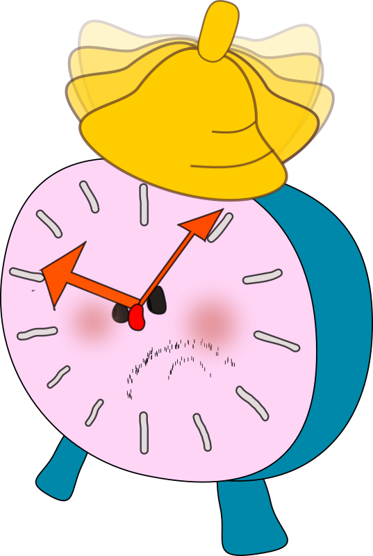 alarm clock is  angry by OlKu -