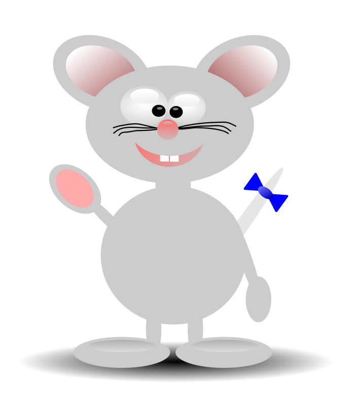 Mouse 2 by vojtam - goofy cartoon mouse