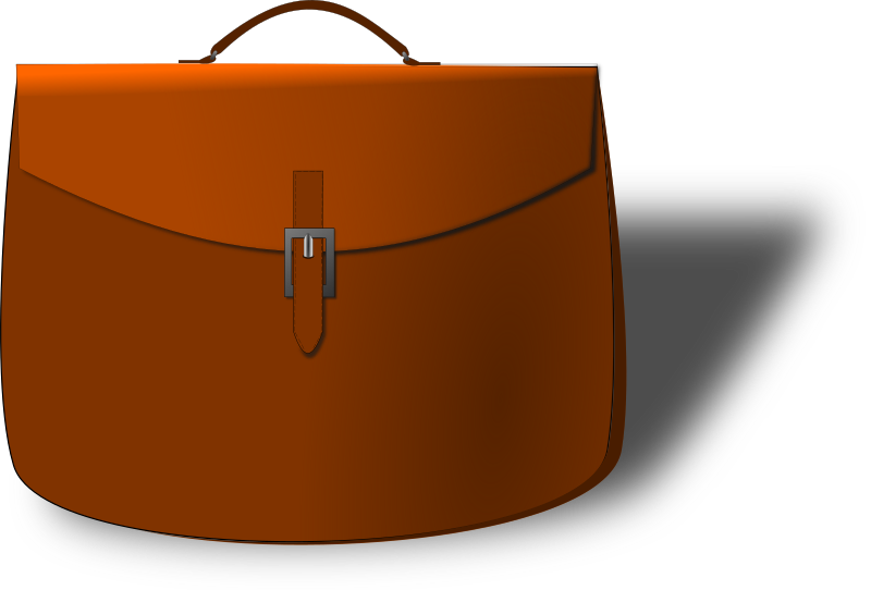 Leather briefcase  by pauthonic - Leather briefcase.