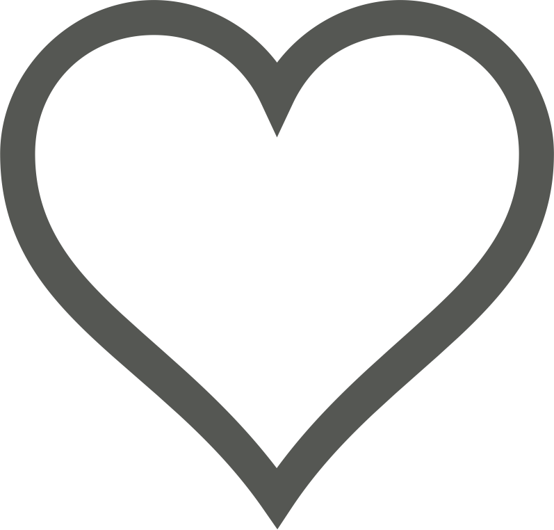 "Heart Icon (Deselected) by pianoBrad - A heart icon, useful for sites in need of a favorites system.  Specifically, this could be used to indicate an item that could potentially be ""favorited"" but has yet to be so."