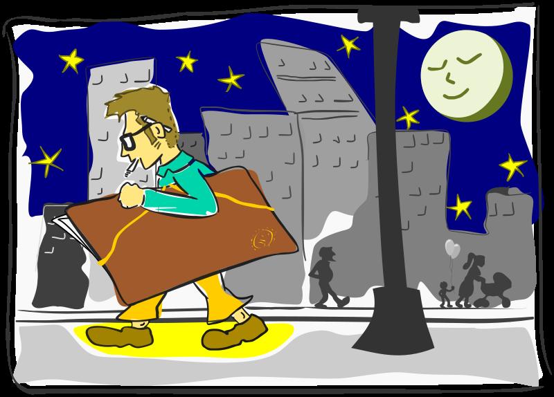 Clipart - Dibujante / Cartoonist