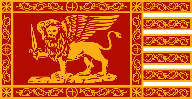 War Flag of Venice by Anonymous - war flag of Venice