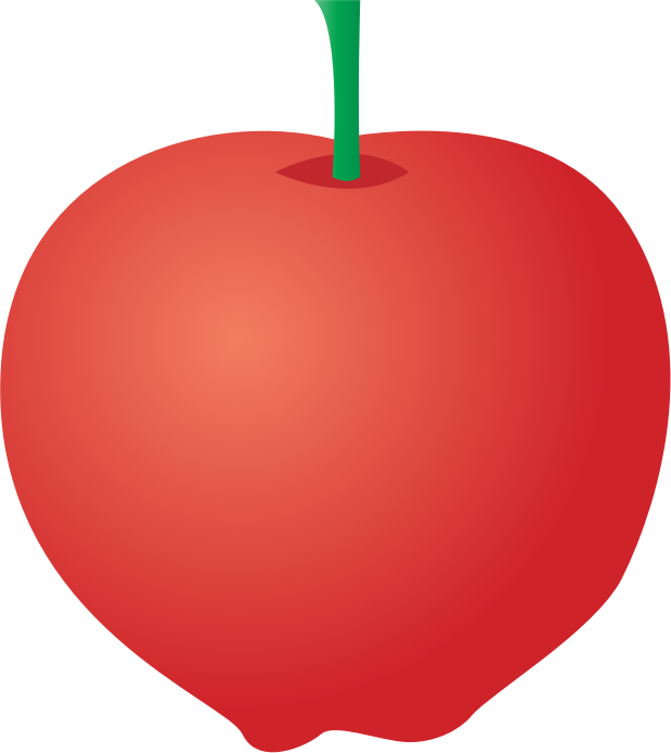 Apple by jgm104 - An illustration of an apple.