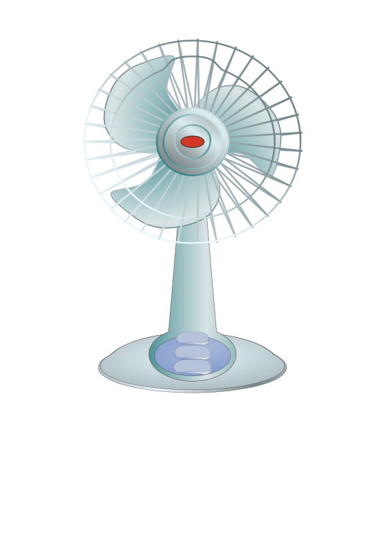 desktop fan by TheresaKnott