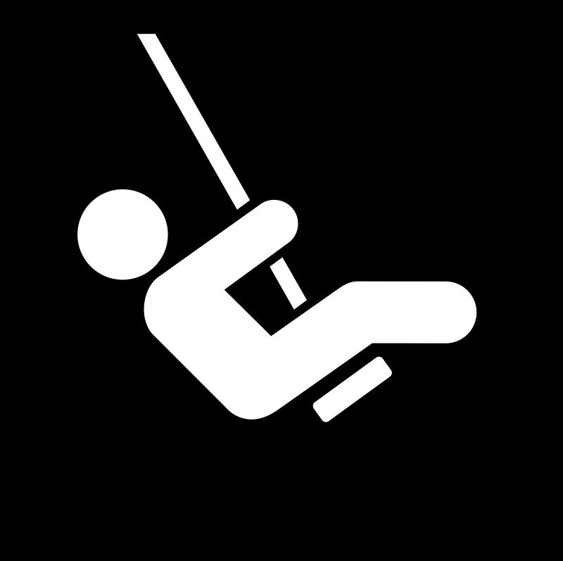 Clipart - Land recreation symbols 18