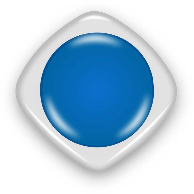 Button by cameltech - Blue Button.