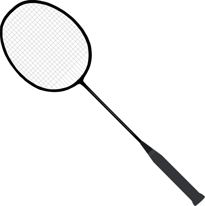 Badminton racket (with strings) by bugmenot