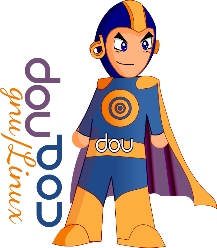 Super Hero DOU by valessiobrito - Davi B. Rohrs draw lines (GPLv2):