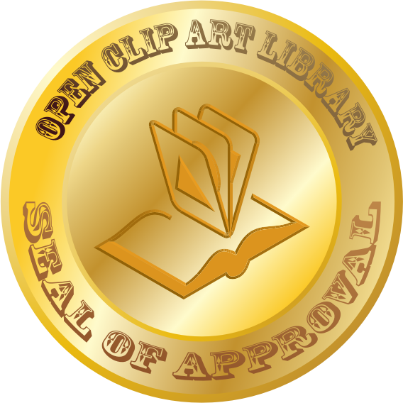 Open Clip Art Library Seal of Approval by jhnri4