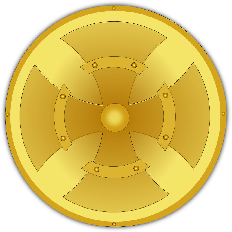 golden shield by pauthonic -