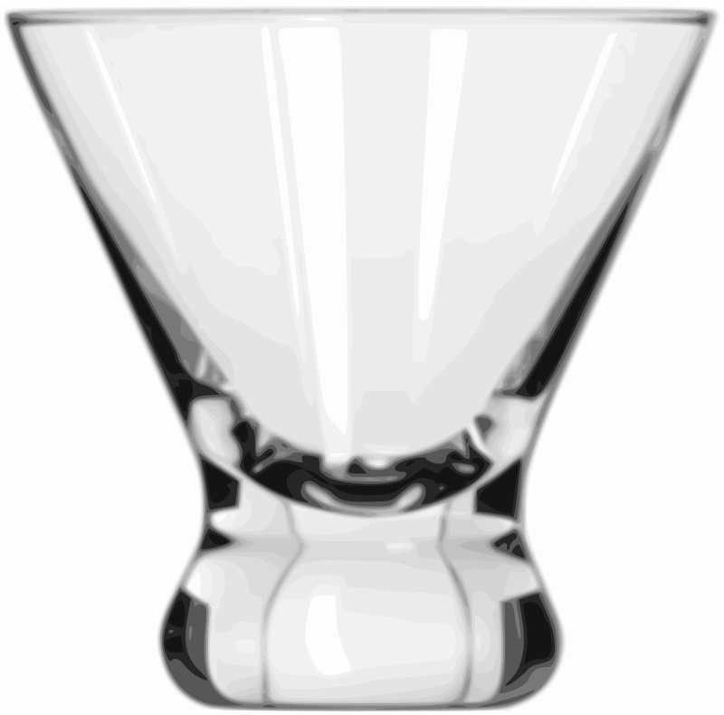Cocktail Glass (Cosmopolitan) by Willscrlt - Cocktail Glass (Cosmopolitan): A variation on the traditional cocktail glass especially us