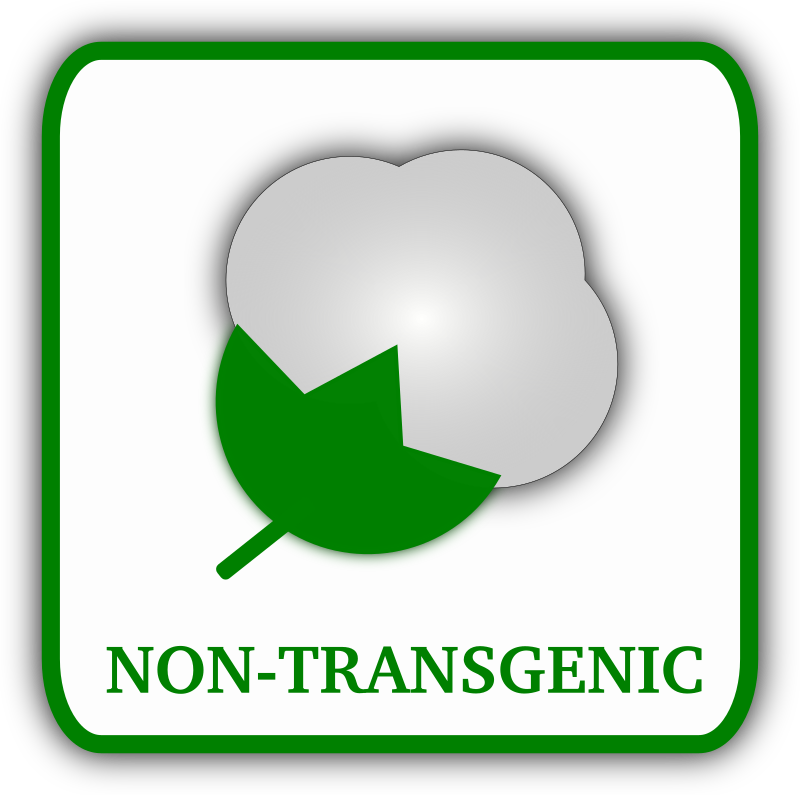 Cotton (non-transgenic) by gsagri04 - Non- Transgenic Cotton label for agriculture product