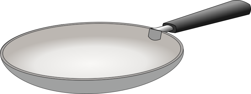 Clipart - padella - frying pan