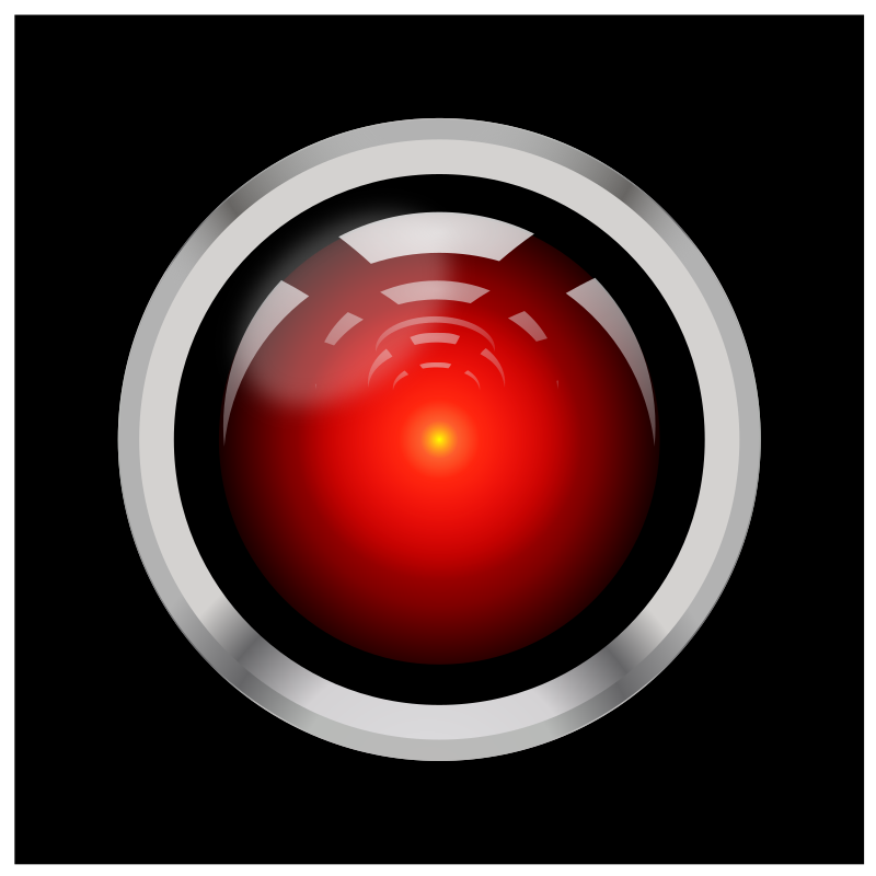 HAL9000 by marauder - hal 9000 in 5 minutes with inkscape