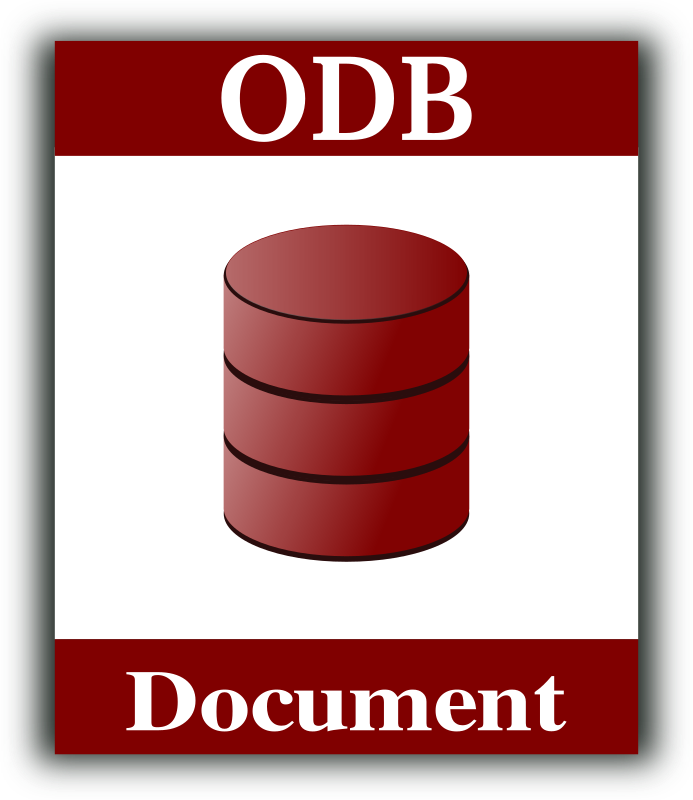 Database icon by gsagri04 - Database icon for open document format