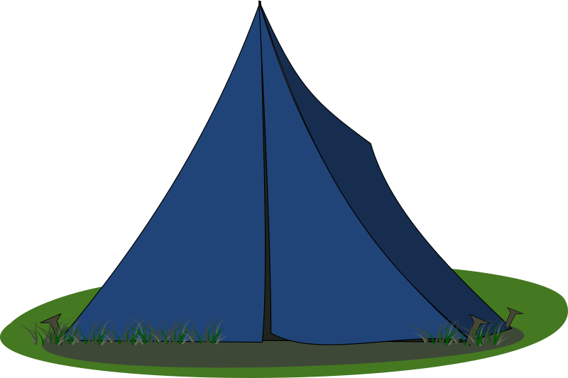 Blue Ridge Tent by stevepetmonkey - A Blue ridge tent.