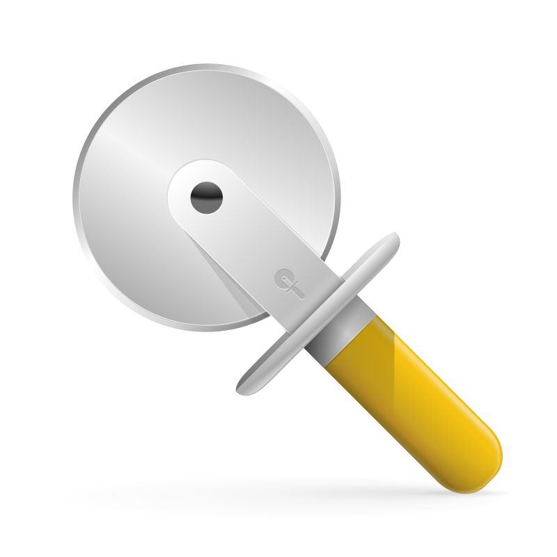 pizza cutter icon by Andy - pizza cutter icon