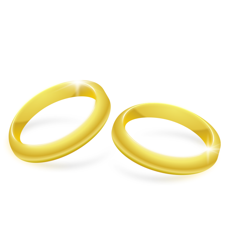Gold Rings by Andy