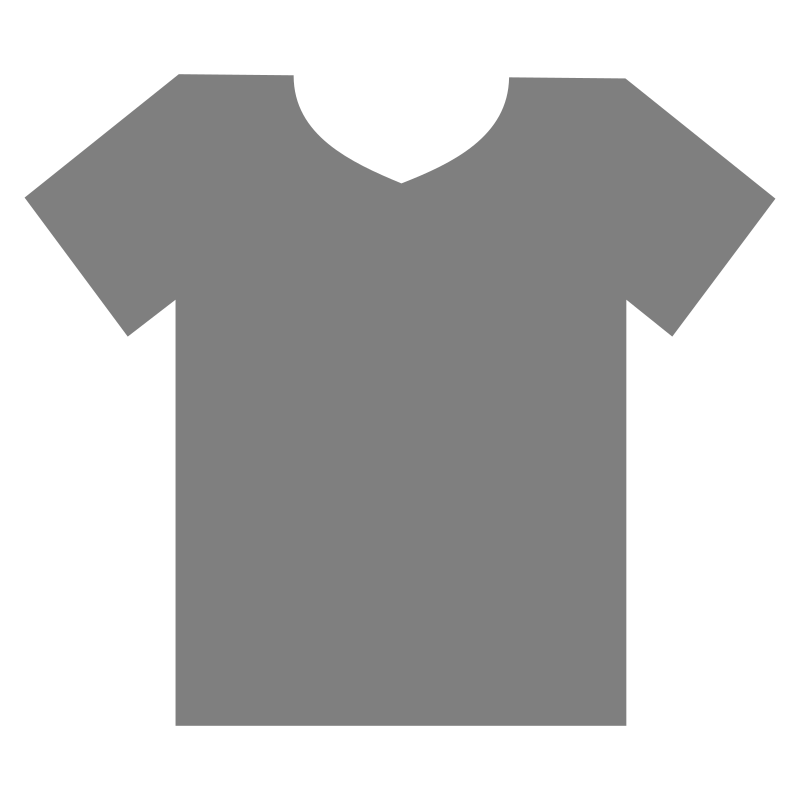 t-shirt outline by Andy - a blank t-shirt outline