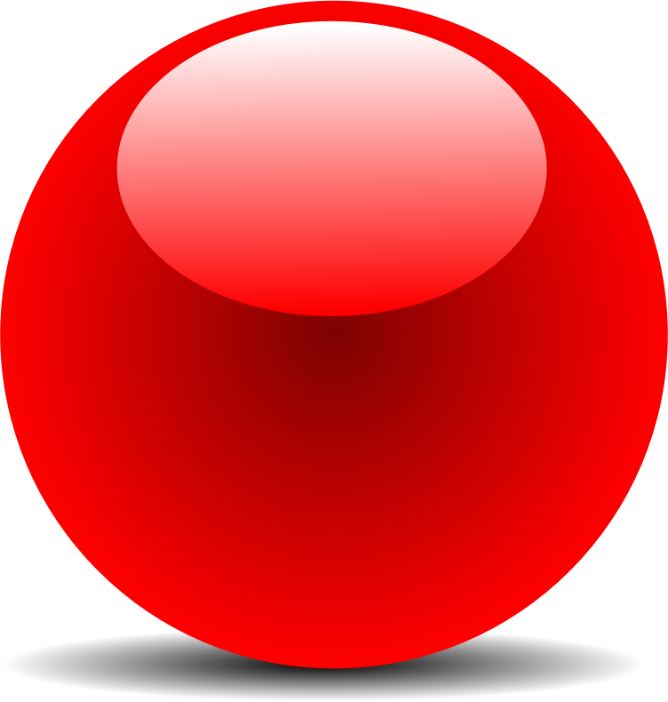 Red Chrome Button by jhnri4