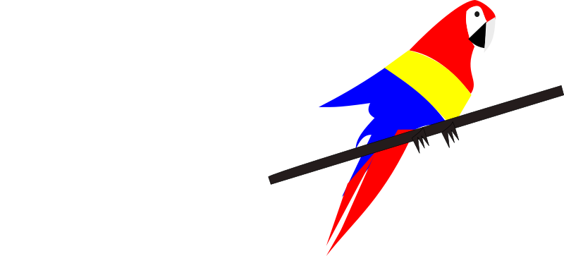 papa gayo  by Kajapo - A parrot with the Colombia colors.