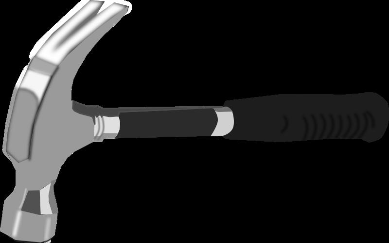 gavel clip art black and white