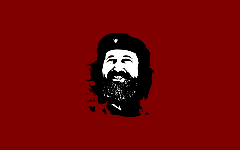 Che Stallman by cliparteles - Hay que endurecer pero sin software propietario.