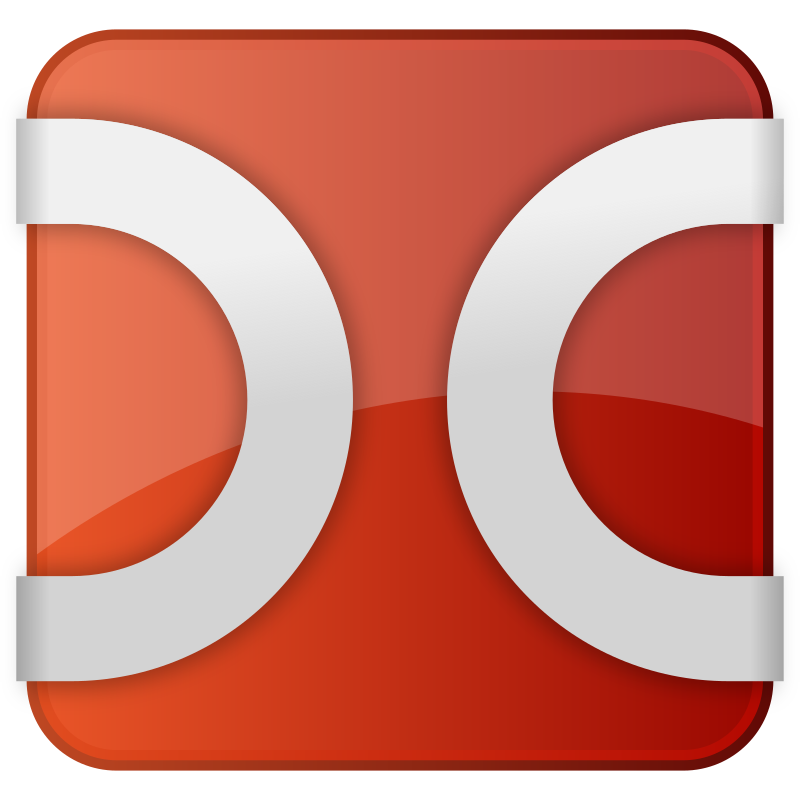 Double Commander icon var. 3 by vanyasmart - Double Commander is a cross-platform open source file manager with two panels side by side.