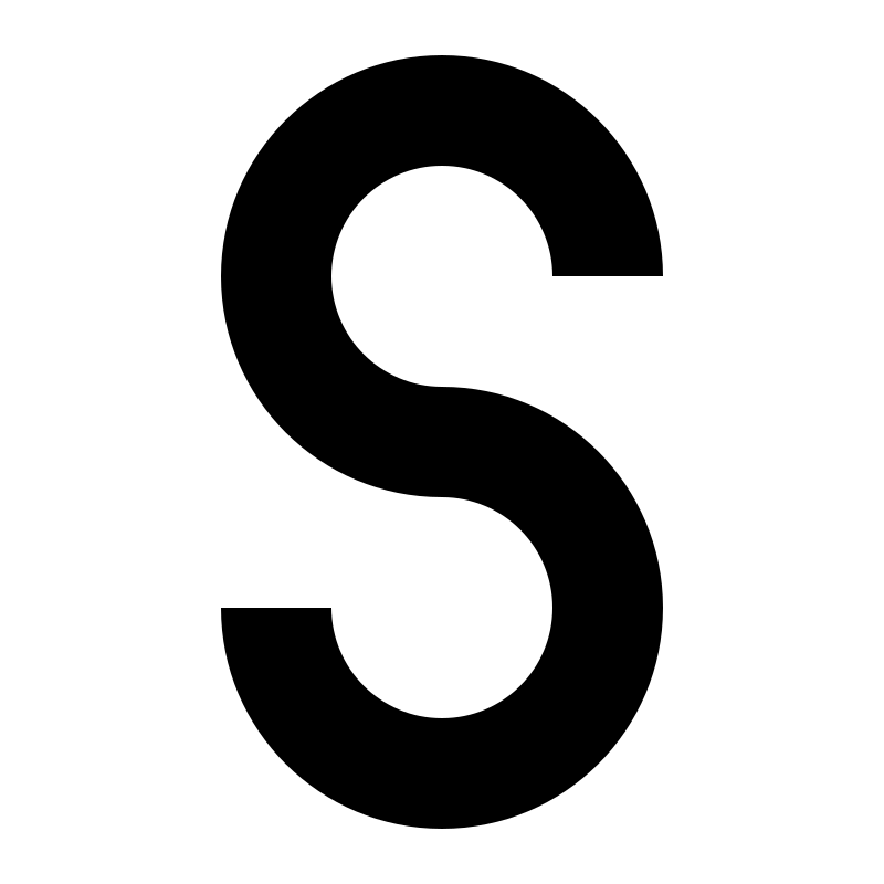 letter S by 10binary